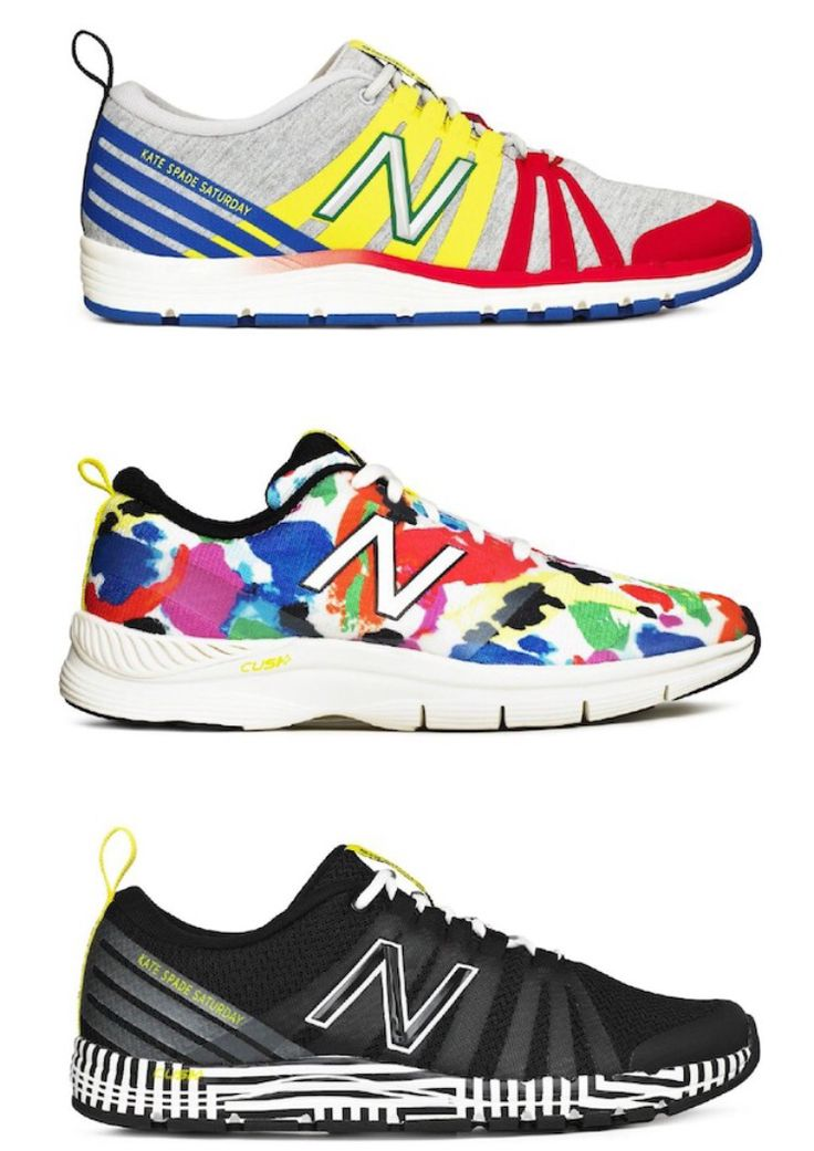 Kate Spade New Balance sneakers. My favorite designer and my favorite shoe brand...what could be more perfect!