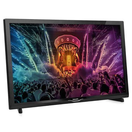 Телевизор Philips  24PHT4031/60  — 12490 руб. —  Philips 24PHT4031/60 - тонкий светодиодный LED-телевизор с технологией Digital Crystal Clear, который оснащен всеми нужными функциями и отличается компактностью. Оцените четкое изображение и чистый звук, а также удобные дополнительные порты USB и HDMI. Отличный выбор для любой комнаты в доме. Технология Digital Crystal Clear, разработанная Philips, позволяет насладиться естественным изображением с любого источника. Смотрите любимые сериалы…