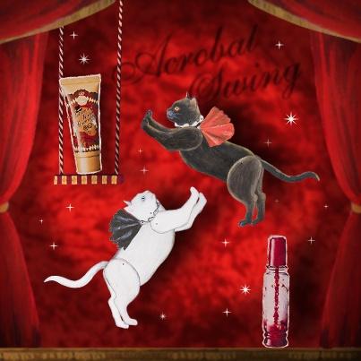 Circus Ecstasy  この興奮、ついてこれる?|MAJOLICA MAJORCA|資生堂 サーカスのミニゲーム「空中ブランコ」に大成功! すべてはあなたの思いのまま。 http://www.shiseido.co.jp/mj/
