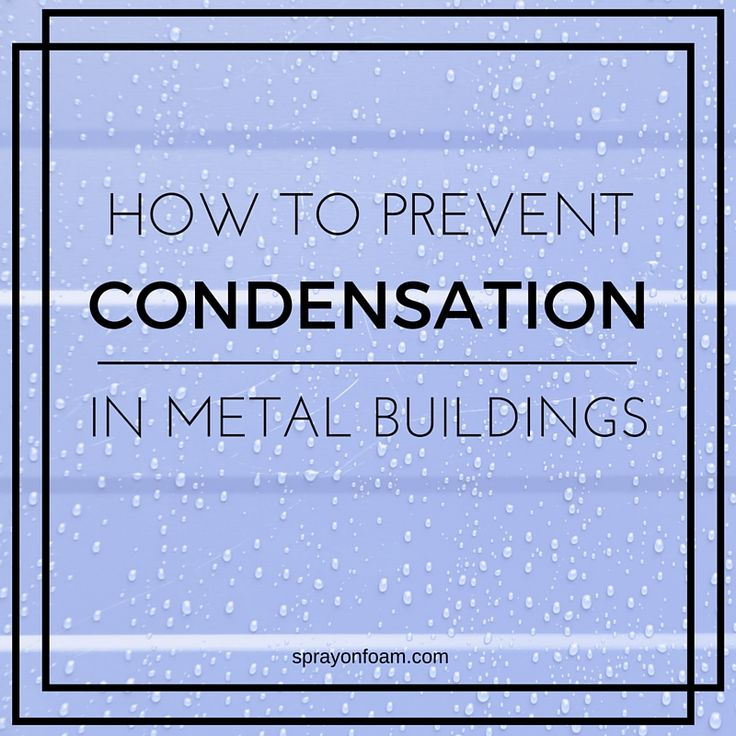 What Is The Best Paint To Stop Condensation On Metal