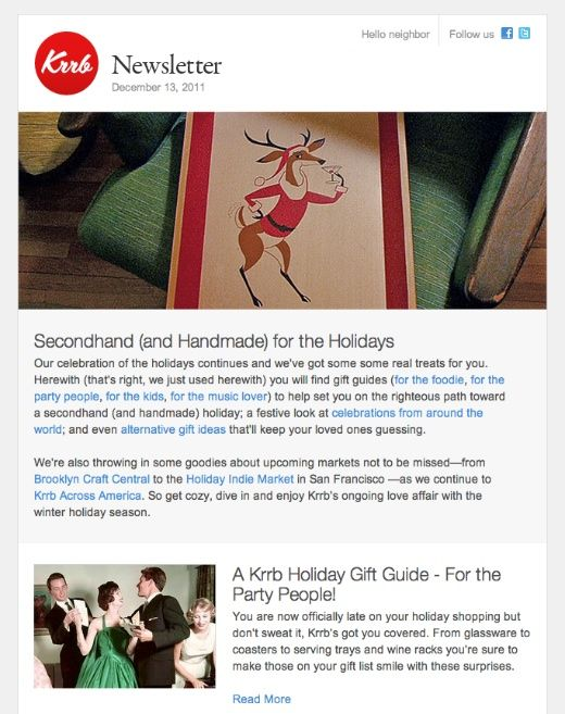 Best Newsletters Images On   Email Newsletter Design