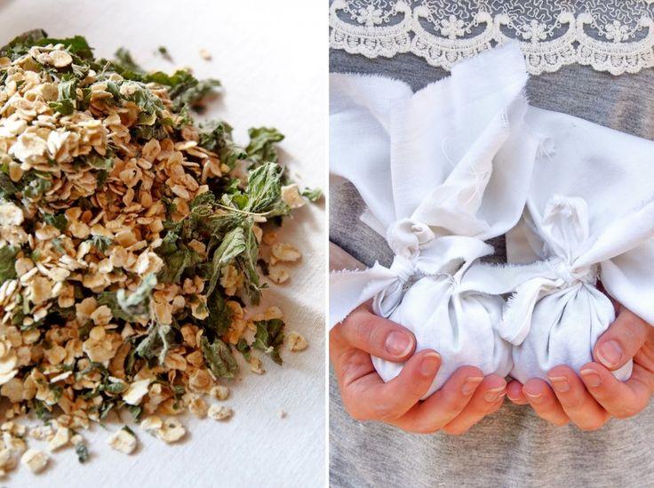 """DIY Badesäckchen oder hausgemachtes """"Rasiergel"""" mit Lavendel oder Melisse - """"Fee ist mein Name"""""""