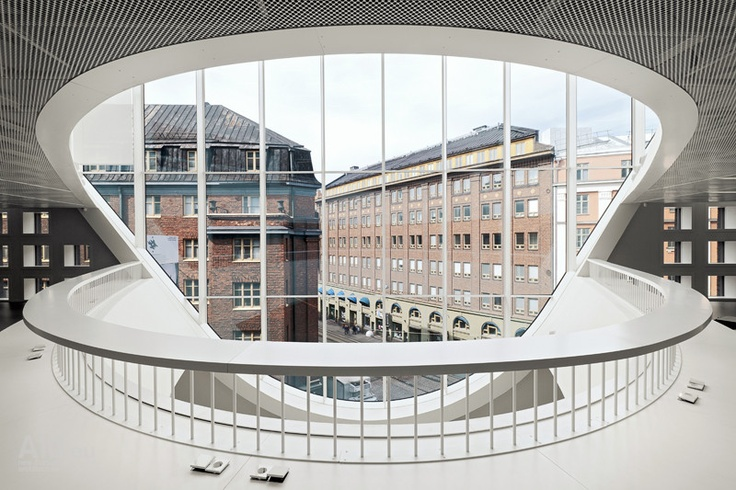 The University of Helsinki City Campus Library / Anttinen Oiva Architects