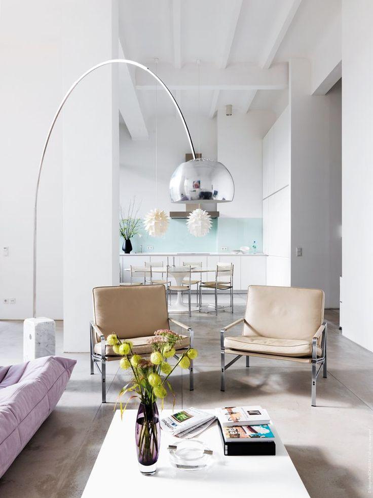 Futuristisches Interieur Loft Wohnung. 99 besten design - desino ...