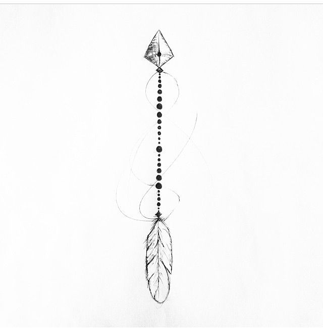 Arrows Tattoos and body art and Arrow drawing on Pinterest
