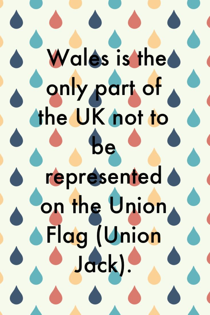 Facts about Wales.. good for them!