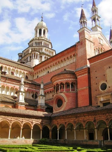 The Certosa di Pavia is a monastery and complex in Lombardy, situated near a small town of the same name in the Province of Pavia