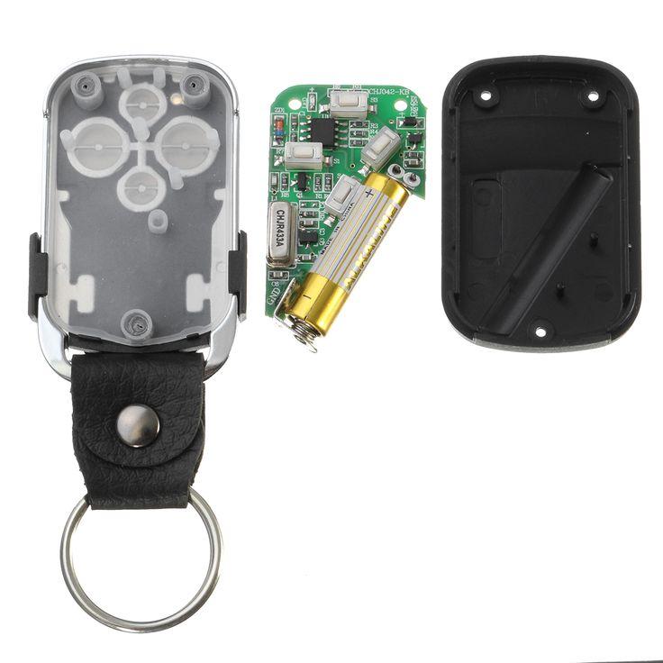 Wireless Electric Cloning Universal Gate Garage Door Remote Control 434mhz Key