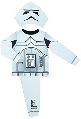 Star Wars Boys Stormtrooper Pyjamas  Age 28 Years  34 Years  up to 104 cm * To view further for this item, visit the image link.