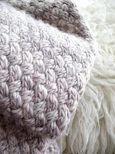 basketweave scarf by @Nicole Dupuis, via Knit Purl PDX newsletter — gorgeous stitch pattern