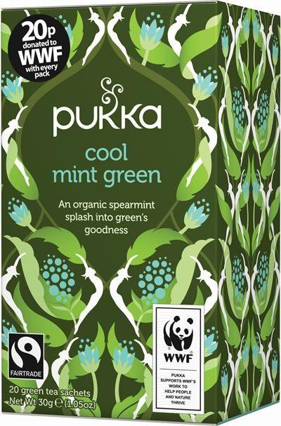 Cool Mint Green   Pukka Teas   Pukka Products   Pukka Herbs