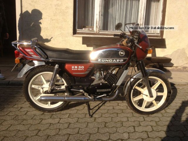 Zundapp Zündapp KS 50 Super Sport (water cooled) 1977 Vintage, Classic and Old Bikes photo