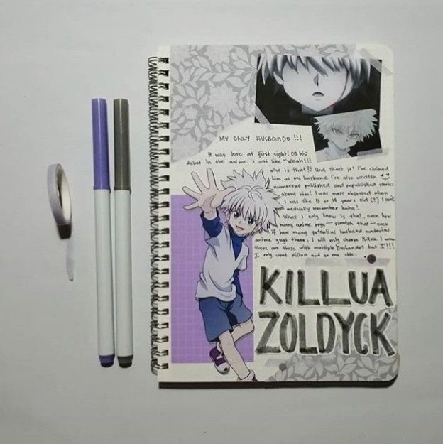 Pin By Penelope Wece On Anime Journal Anime Book Bullet Journal Books Bullet Journal Themes