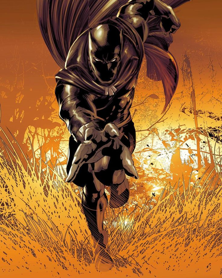 Black Panther by Mike Deodato Colors by Rain