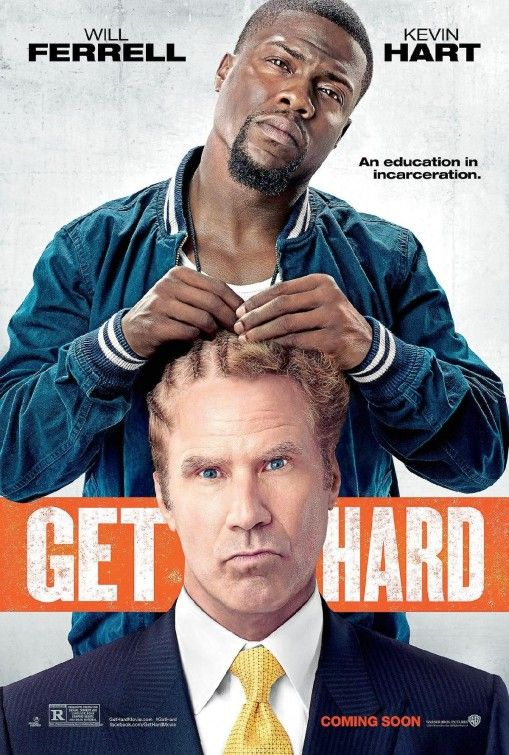 Get Hard - Kevin Hart is funny, but the plot is tired, overdone and Will Ferrell is terribly miscast; he's just not his usual goofball self. (4/10)