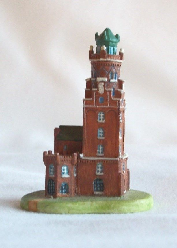 Bremerhaven Lighthouse (Ger) Lenox International Lighthouse Collection Thimble