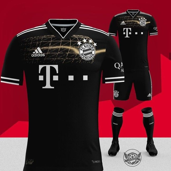 Awesome black Bayern Munich kit concept</p>                     </div> 		  <!--bof Product URL --> 										<!--eof Product URL --> 					<!--bof Quantity Discounts table --> 											<!--eof Quantity Discounts table --> 				</div> 				                       			</dd> 						<dt class=