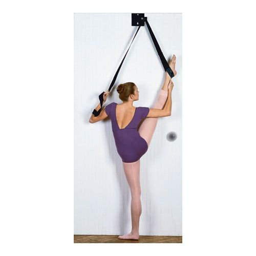 The absolute best in flexibility! Completely portable, it easily slips on the top or bottom of any door. The I-Flex Dance Stretch Unit stretch unit allows you t