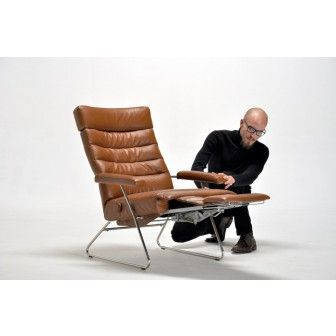 adele recliner chair by lafer