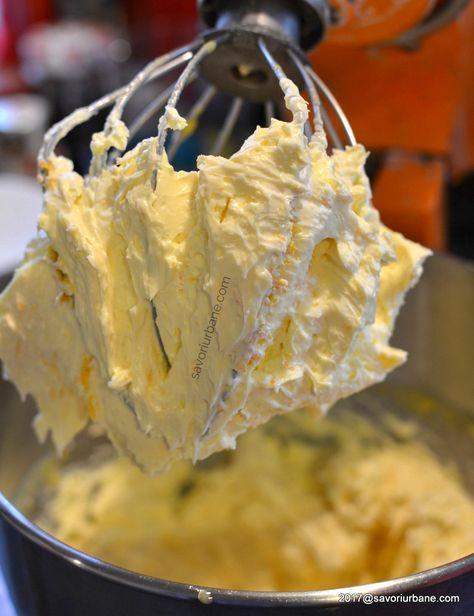 cum se face crema de unt cu portocale sau lamaie