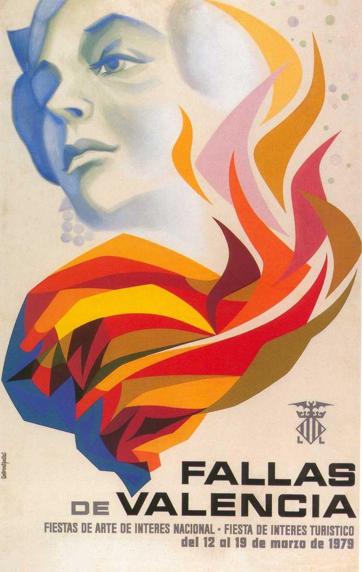 Fallas de Valencia  poster- 1979