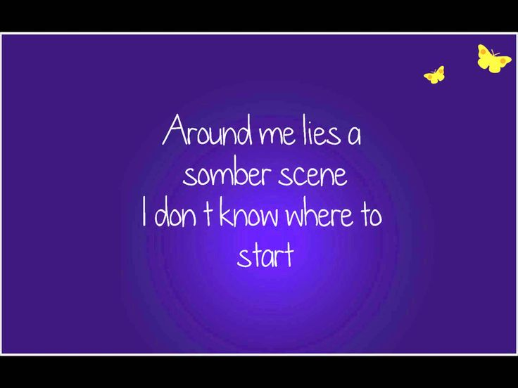 Tomorrow Will Be Kinder by the Secret Sisters (lyrics on screen)...So beautiful!