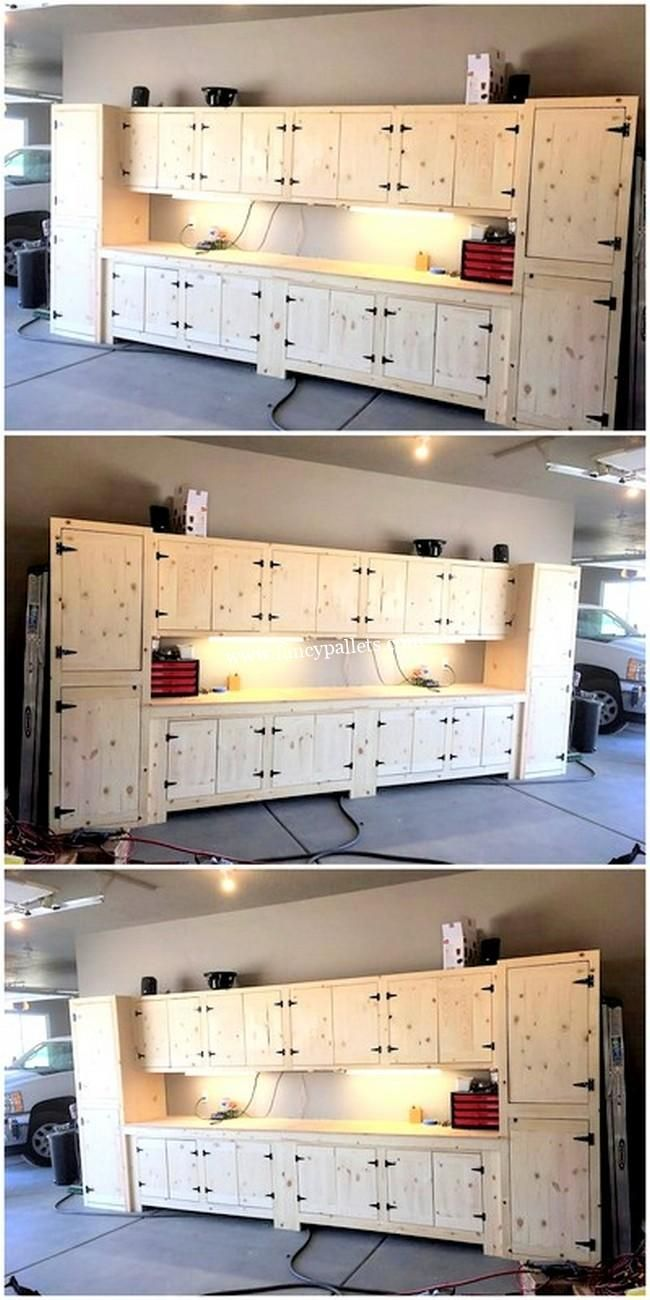 Modern Pallet Kitchen Cabinet Pallet Kitchen Wood Pallets Diy Pallet Projects