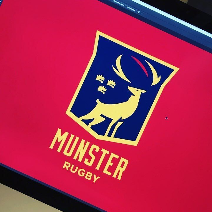 Follow us @logoinspirations Munster Rugby by @frazdav - http://ift.tt/2geIf0d - BEAUTIFUL TRAVEL BRANDING @travelbranding @travelbranding