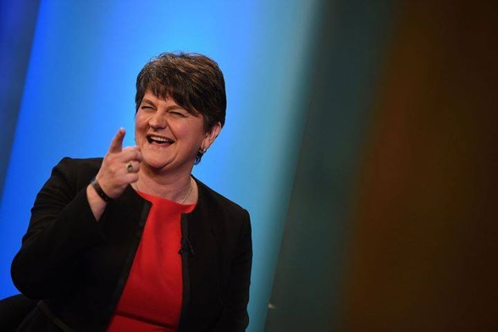 She signed a £1 billion deal with the Conservative party this week, enabling them to govern the UK - but how much do you know about DUP leader Arlene Foster? http://vogue.uk/VIZvfz