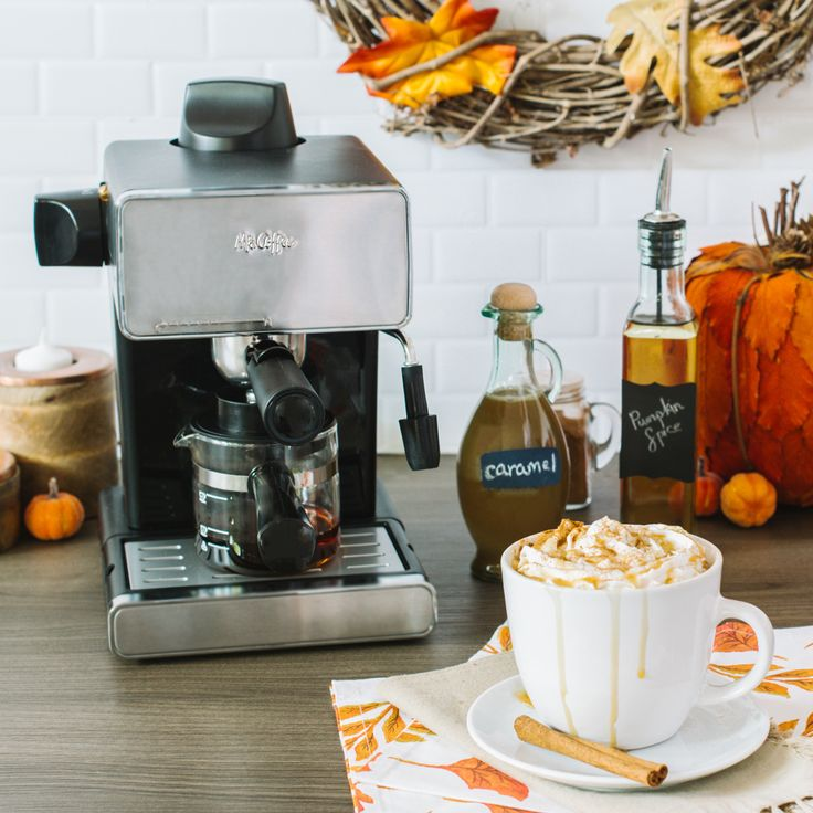 10 Best images about Mr. Coffee Espresso on Pinterest Espresso coffee, Cappuccino maker and ...