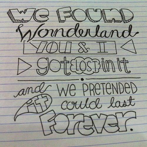 Wonderland- Taylor Swift