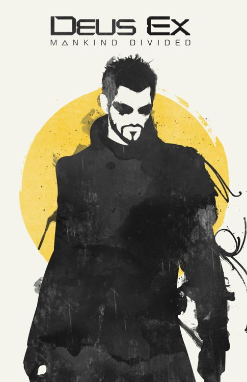 Deus Ex: Mankind Divided Poster - Created by William Henry