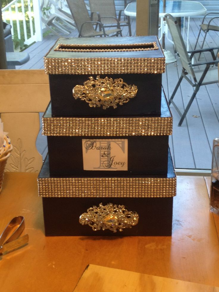 Wedding card box!!!