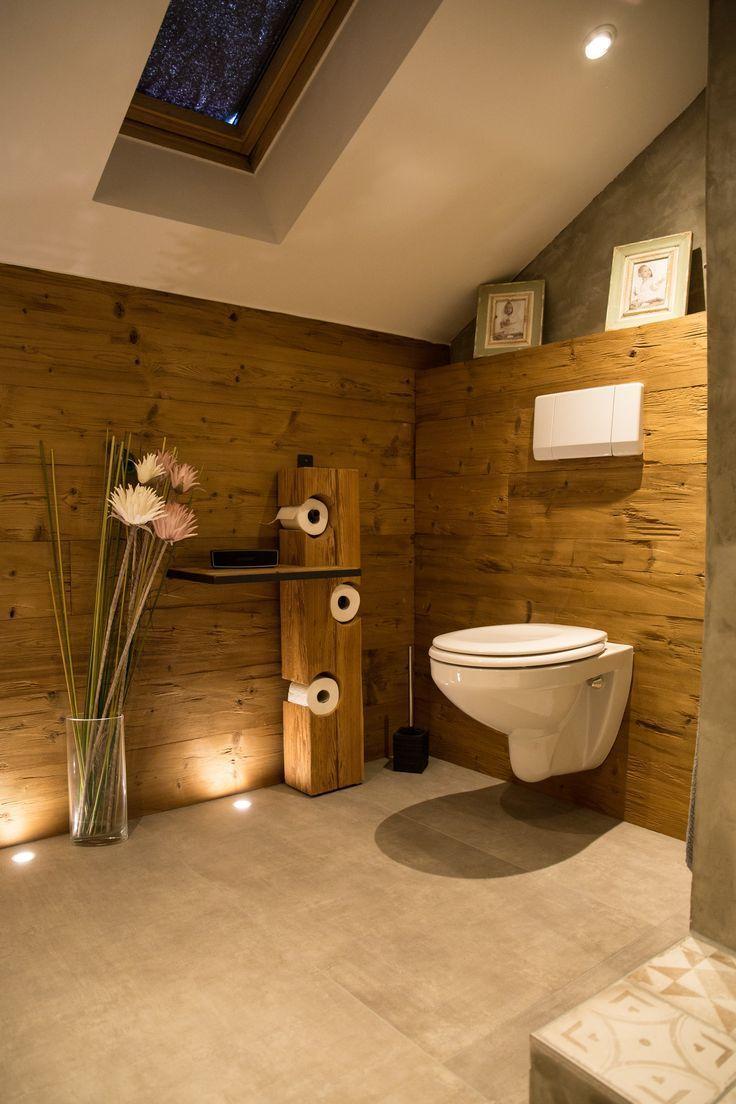 Badezimmer mit altem Holz – Badezimmer – #altem …