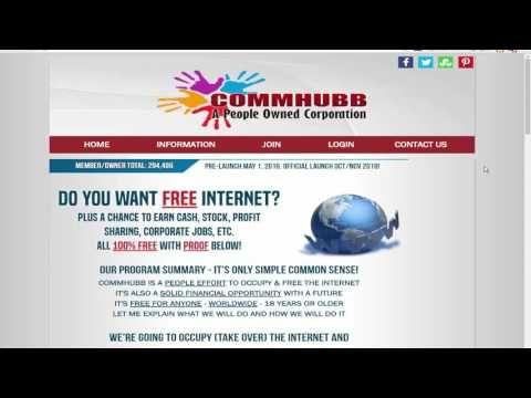 Commhubb Регистрация Заработок без ваших вложений