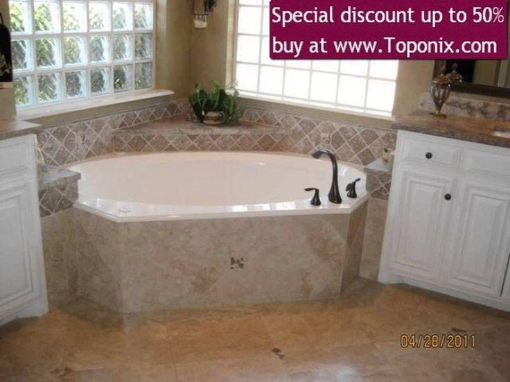 corner bathtub designs   Interior Design : Corner Baths For Small Bathrooms Creative Drawing ...