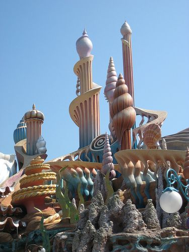 Disneyland Tokyo Ariel S Castle