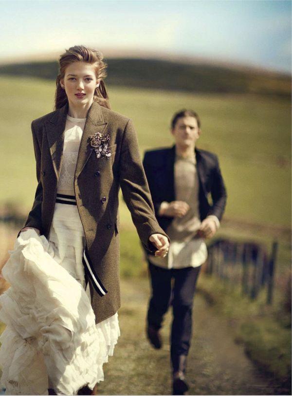 Fashion Editorial | Romantic Fall Fashions