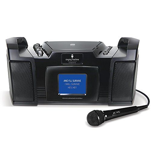 Singing Machine STVG352 Karaoke Machine Singing Machine http://www.amazon.com/dp/B00GHU5S2W/ref=cm_sw_r_pi_dp_qsNIvb18QEV2W
