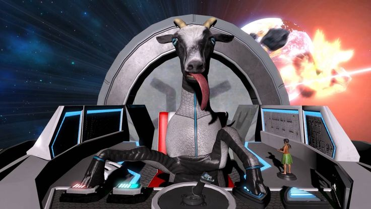Goat Simulator takes to space: Goat Simulator's latest expansion takes place on a scam, crowdfunded space colony; an Arnold Schwarzenegger…