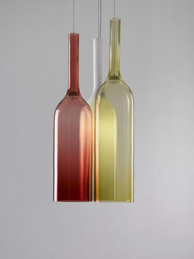 Elegant Stained Glass Chandelier JAR RGB Design Lighting Collection By Lasvit Nice Design