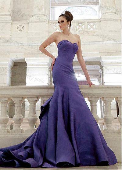 Dark blue prom dress,Sweetheart neck prom dress,satin prom dress,long prom dress,sexy prom dress,prom dress 2016