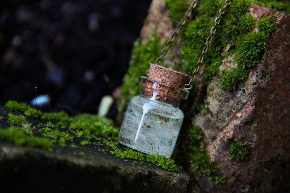 Taraxacum Officinale Resin Pendant Necklace by SabinaDragusanu