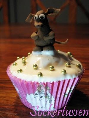 Sniff cupcake!