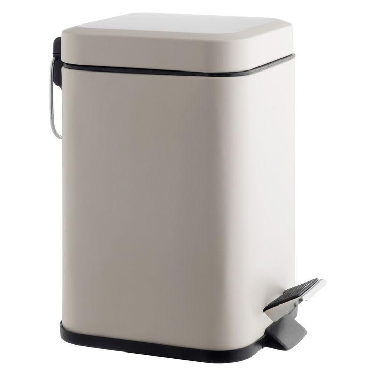 POLI Beige stainless steel bathroom bin. Best 25  Bathroom bin ideas on Pinterest   Jungle bathroom  Home