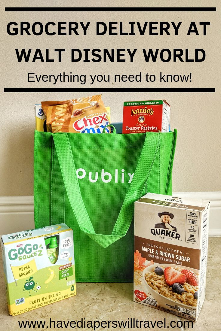 Everything You Need To Know About Grocery Delivery At Disney World Have Diapers Will Travel Delivery Groceries Disney World Hotels Walt Disney World