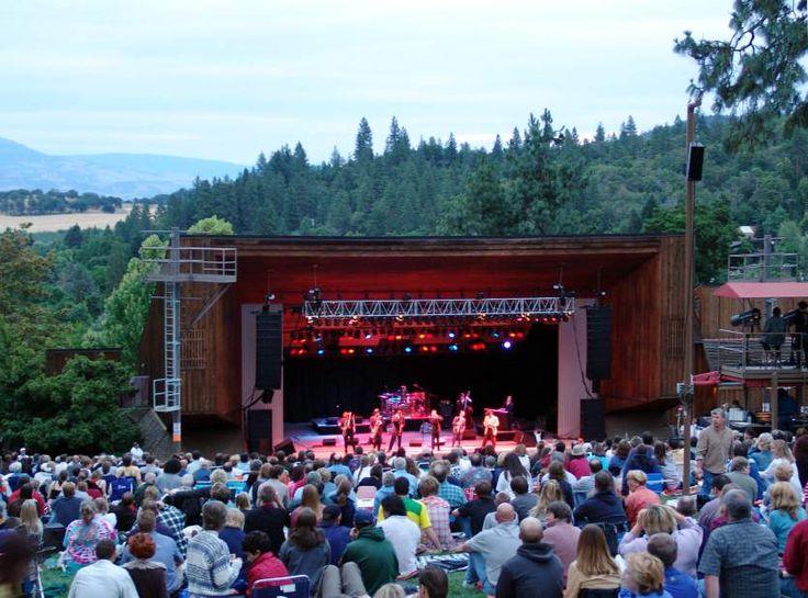 Enjoy warm summer evening concerts of all kinds at Jacksonville's outdoor Britt Festival. www.brittfest.org