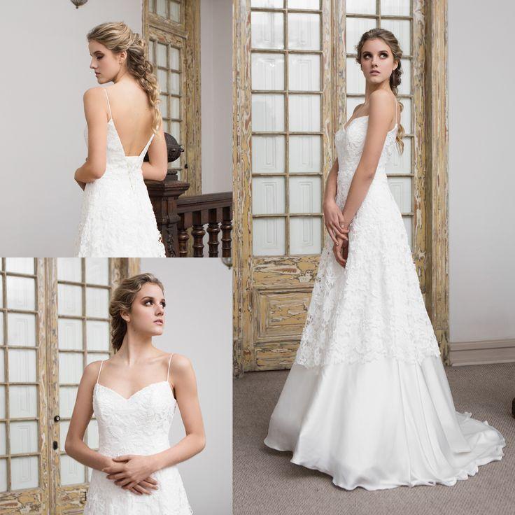 vestido de novia boho de macrame · Macrame boho wedding dress - www.santoencanto.cl/vestidos-de-novia/
