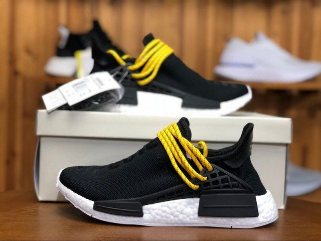 Mens Womens Shoes Adidas Originals PW Human Race Pharrell NMD Cblack BB3068 bb3068