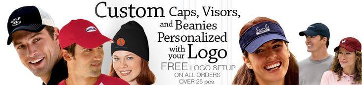 Custom Embroidered Hats, Logo Caps, Visors and Beanies